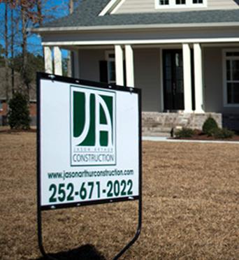 Jason Arthur Construction Servicing North Carolina